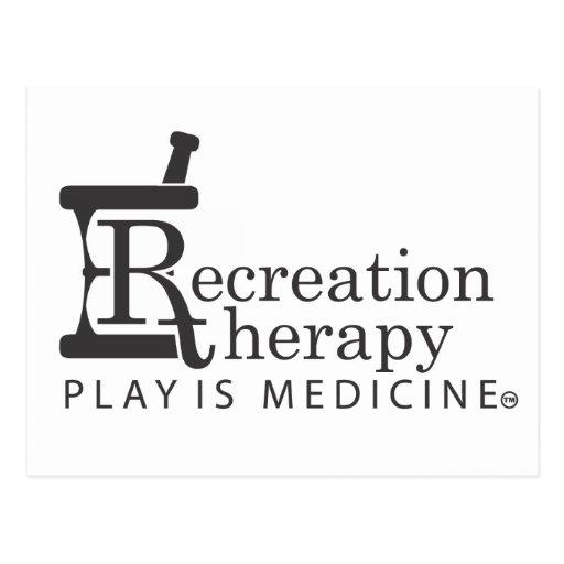 Horizontal Recreaiton Therapy Postcard