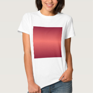 Horizontal Red1 - Pastel Red and Burgundy Gradient T Shirt