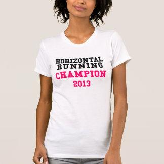 Horizontal Running Champion 2013 Ladies Tank Top