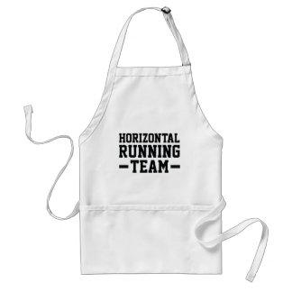 Horizontal Running Team Adult Apron