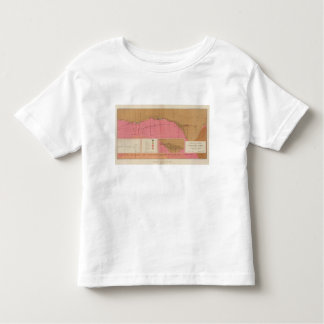Horizontal Section of the Comstock Lode North Toddler T-shirt