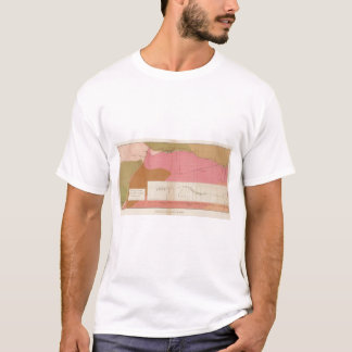 Horizontal Section of the Comstock Lode South T-Shirt