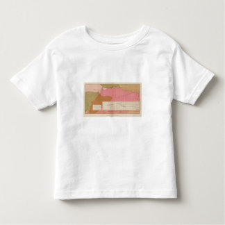 Horizontal Section of the Comstock Lode South Toddler T-shirt