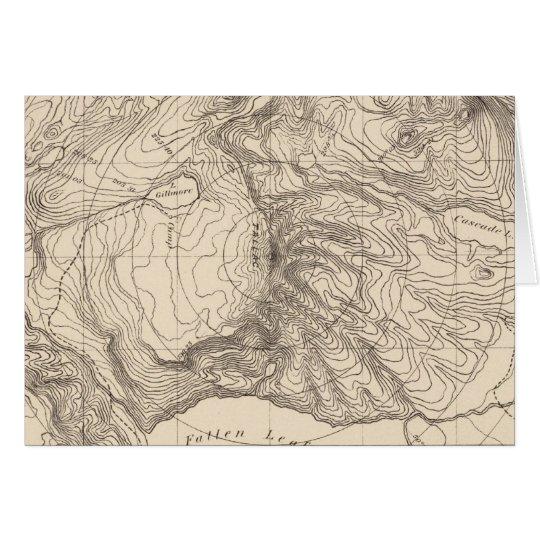 Horizontal sketch from Tallac Peak, Cal Card
