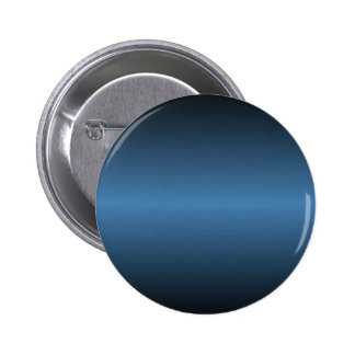 Horizontal Steel Blue and Black Gradient Pinback Buttons
