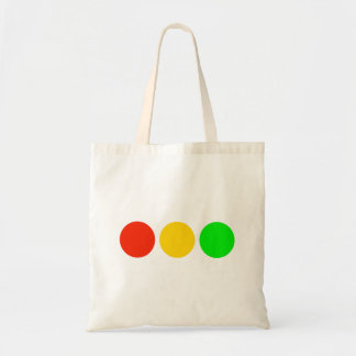 Horizontal Stoplight Colors Tote Bag