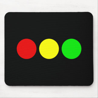Horizontal Stoplight Mouse Pad