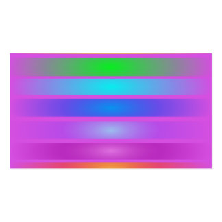 Horizontal Stripes Art Purple Double-Sided Standard Business Cards (Pack Of 100)