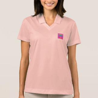 Horizontal Stripes Art Square Purple T-shirt