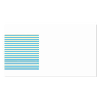 Horizontal Stripes Faded Yellow, Blue Pattern Gift Business Card