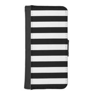 Horizontal Stripes iPhone 5/5s Wallet Case