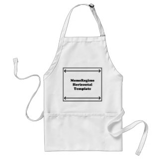 Horizontal Template Adult Apron