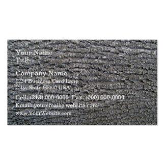 Horizontal texture of tree bark business card