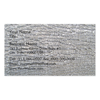 Horizontal texture of tree bark business card