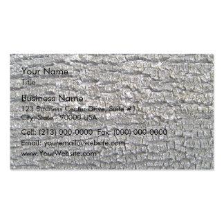 Horizontal Tree Bark Texture Business Card