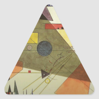 Horizontal Triangle Sticker