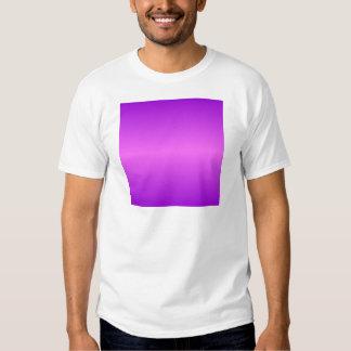 Horizontal Ultra Pink and Dark Violet Gradient T-Shirt