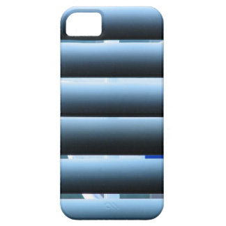 Horizontal Window Blinds - Blue & Gray iPhone SE/5/5s Case