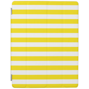 Horizontal Yellow Stripes iPad Smart Cover