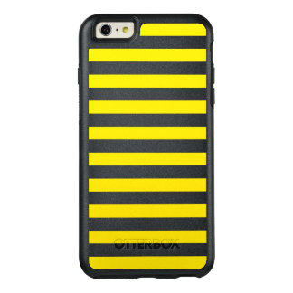 Horizontal Yellow Stripes OtterBox iPhone 6/6s Plus Case