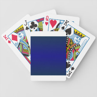 HorizontalBlue2-Oxford Blue and Navy Blue Gradient Poker Cards
