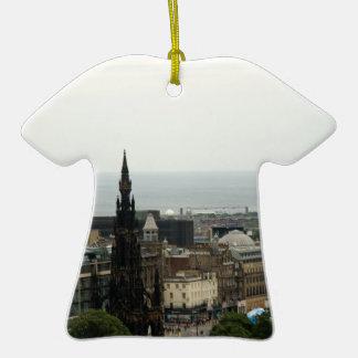 Horizonte 001 de Edimburgo Adorno De Navidad
