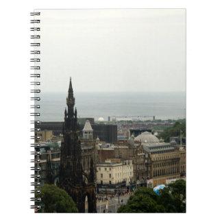 Horizonte 001 de Edimburgo Libretas Espirales
