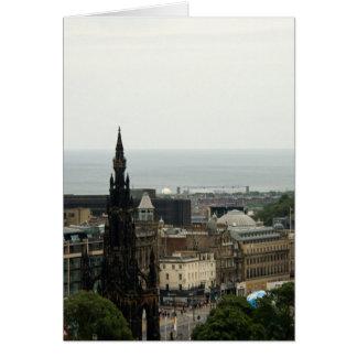 Horizonte 001 de Edimburgo Tarjetón
