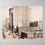 Horizonte 1916 de Birmingham, fotografía del vinta Impresiones