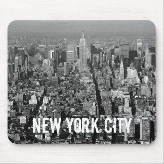 Horizonte 1987 de New York City los E.E.U.U. Tapetes De Ratón