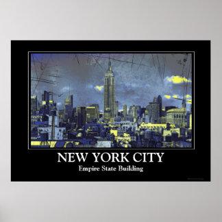 Horizonte #1 de Grungified New York City Impresiones