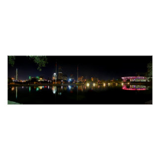 Horizonte 1 de la noche de Austin Tejas Posters