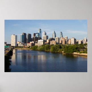 Horizonte 1 de Philadelphia Poster