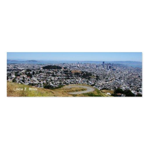 Horizonte 1 de San Francisco Tarjetas De Visita Mini