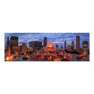 Horizonte 2013 de los Chicago Blackhawks Impresiones Fotograficas
