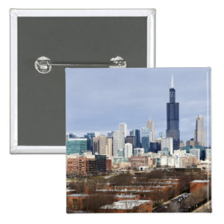 Horizonte 2 de los E E U U Illinois Chicago Pin