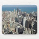 Horizonte 3 de Chicago Alfombrilla De Raton