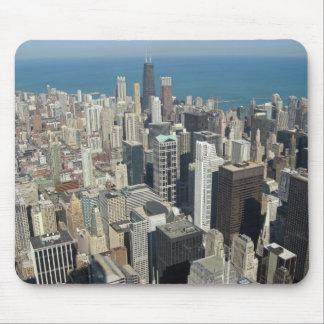 Horizonte 3 de Chicago Tapetes De Ratón