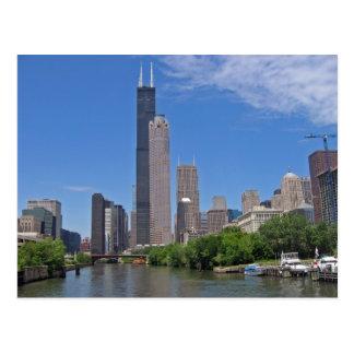 Horizonte 4 de Chicago Tarjetas Postales