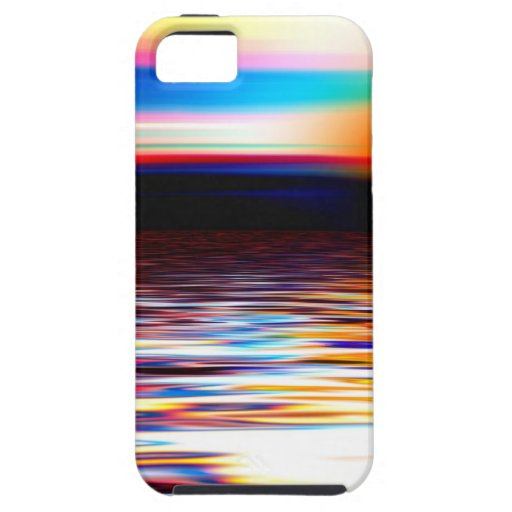 Horizonte abstracto iPhone 5 Case-Mate protector