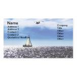 Horizonte adriático plantilla de tarjeta de negocio