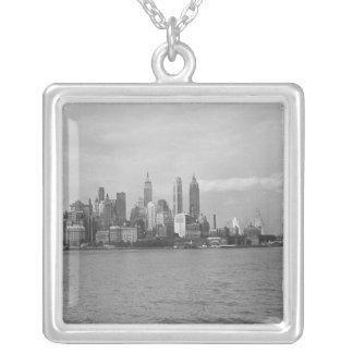 Horizonte B&W de los E.E.U.U. New York City Manhat Grimpola Personalizada