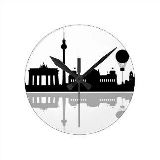 Horizonte Berlín Reloj Redondo Mediano