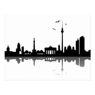 Horizonte Berlín Tarjetas Postales