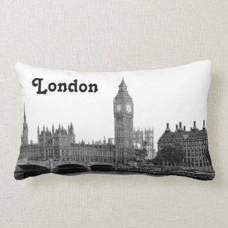 Horizonte BRITÁNICO de Londres Inglaterra grabado Cojin