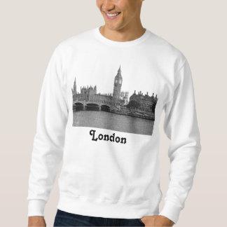 Horizonte BRITÁNICO de Londres Inglaterra grabado Sudadera Con Capucha