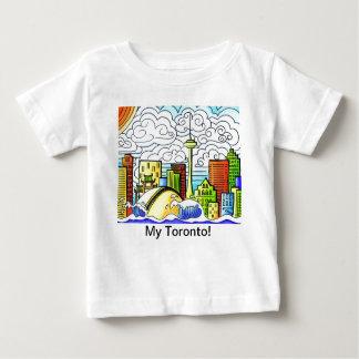 Horizonte caprichoso, colorido de Toronto Poleras