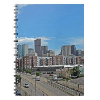 Horizonte céntrico copy.jpg de la ciudad de Denver Libro De Apuntes