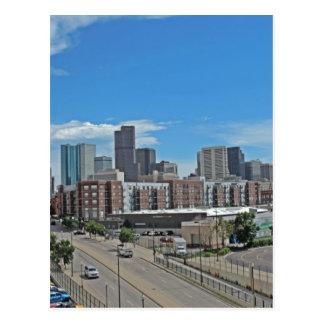 Horizonte céntrico copy.jpg de la ciudad de Denver Tarjetas Postales