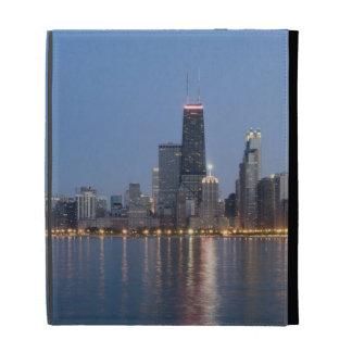 Horizonte céntrico de Chicago